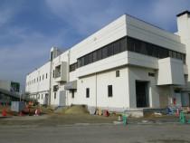 仙塩浄化センター 汚泥脱水機棟
