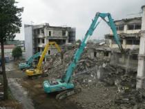 上沼高校解体