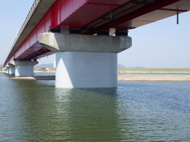 亘理大橋橋梁耐震補強工事